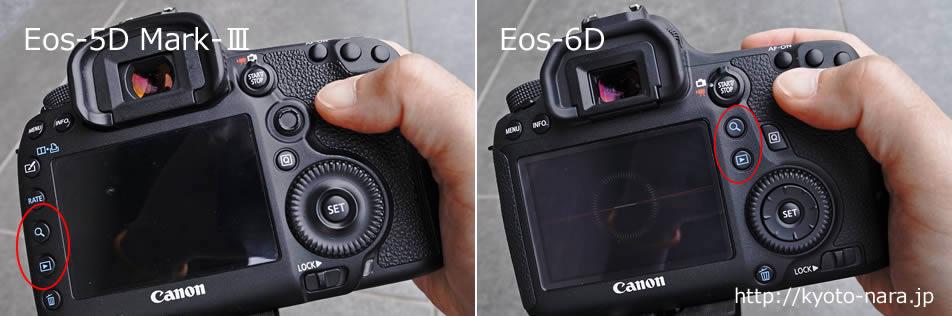 Eos-5D Mark-Ⅲ と Eos-6D
