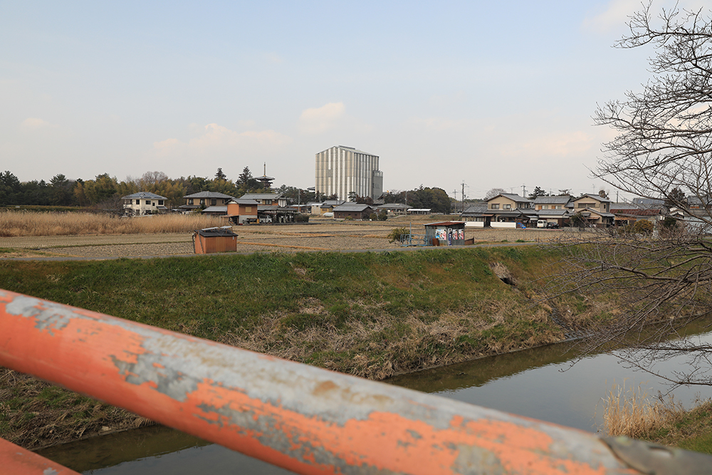 薬師寺 東塔と西塔