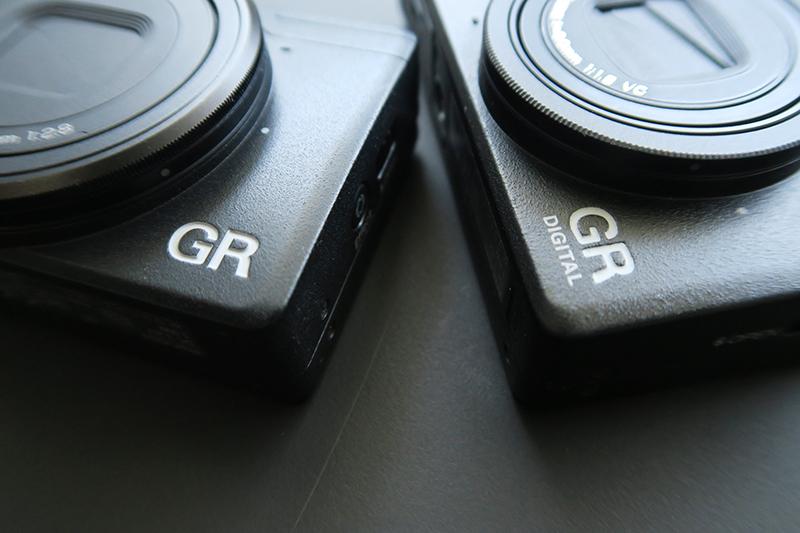 GR digital Ⅳ と GR 比較