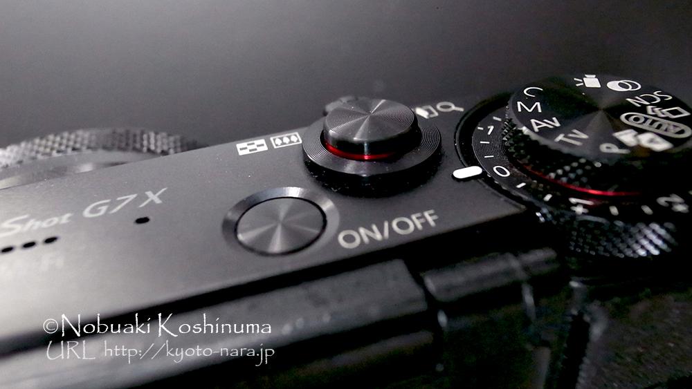 キヤノン G7X モードダイヤル