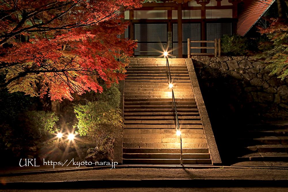 談山神社 紅葉 ライトアップ