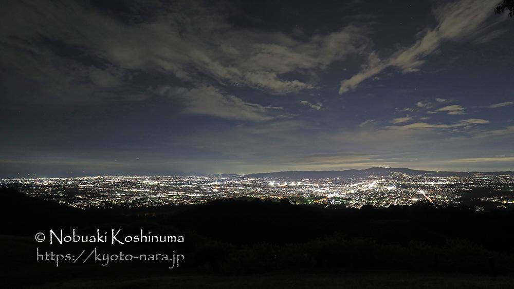 奈良 若草山 夜景