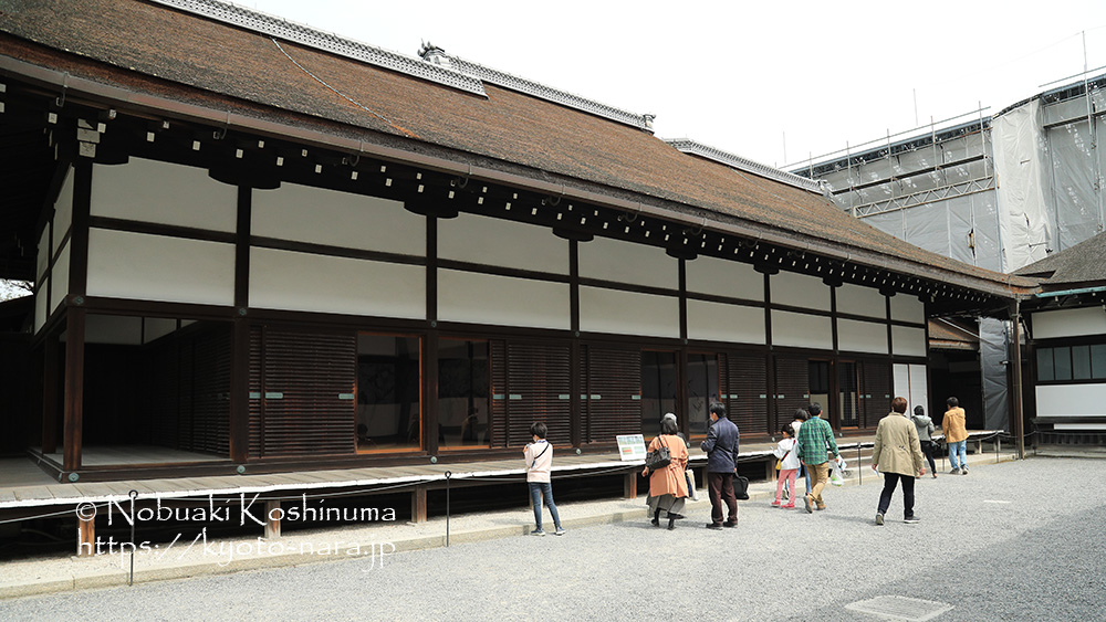 Kyoto Imperial Palace Morodaio