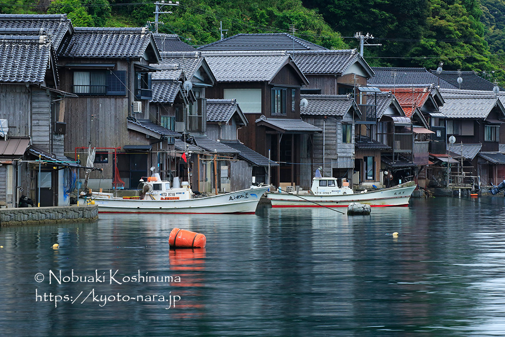 京都 伊根町 舟屋