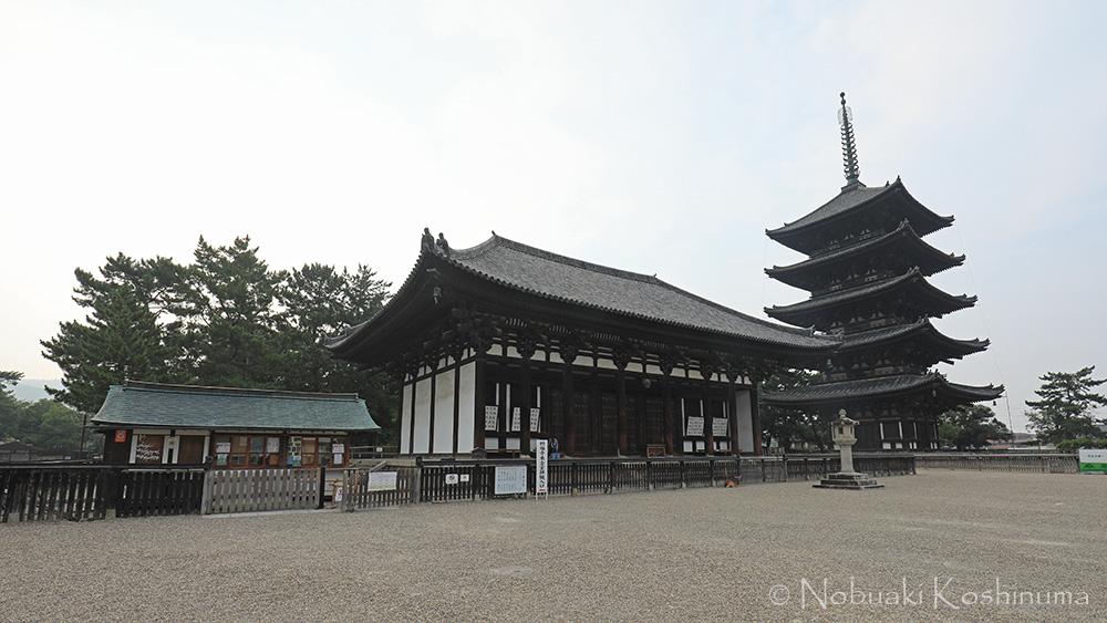興福寺 五重塔 東金堂