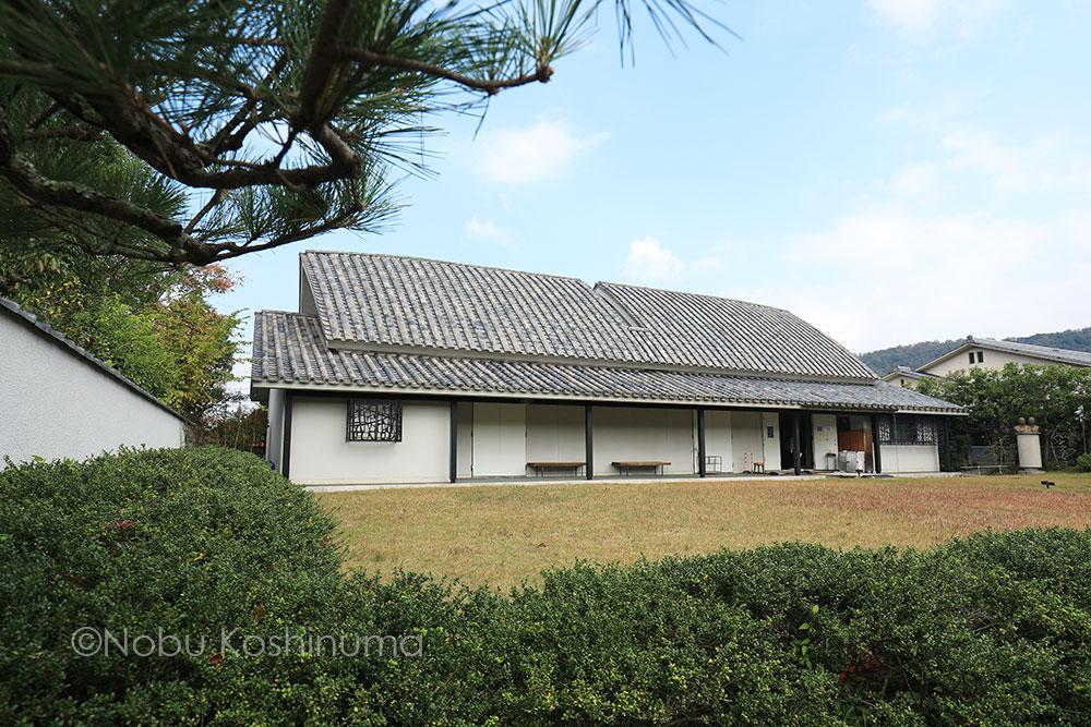 奈良 依水園 日本庭園