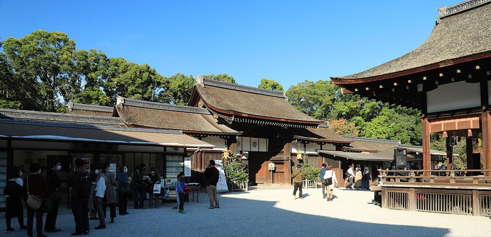 下鴨神社 中門