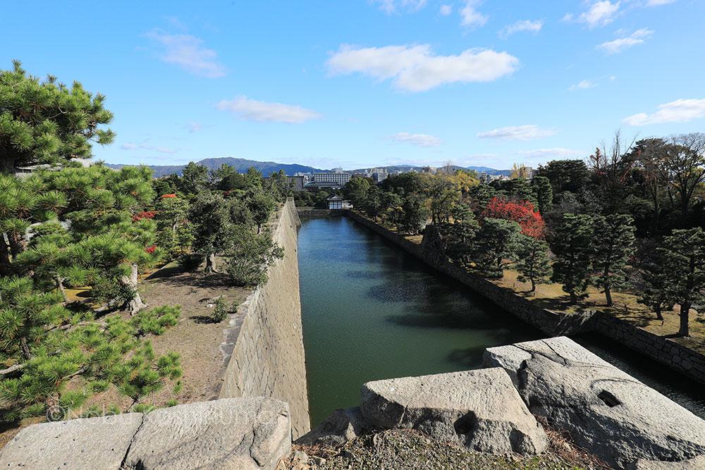 二条城 / 京都 世界遺産 天守台からの眺め