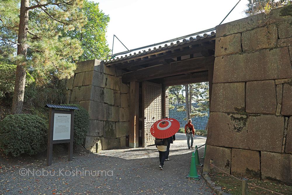 二条城 / 京都 世界遺産 北中仕切門 重要文化財