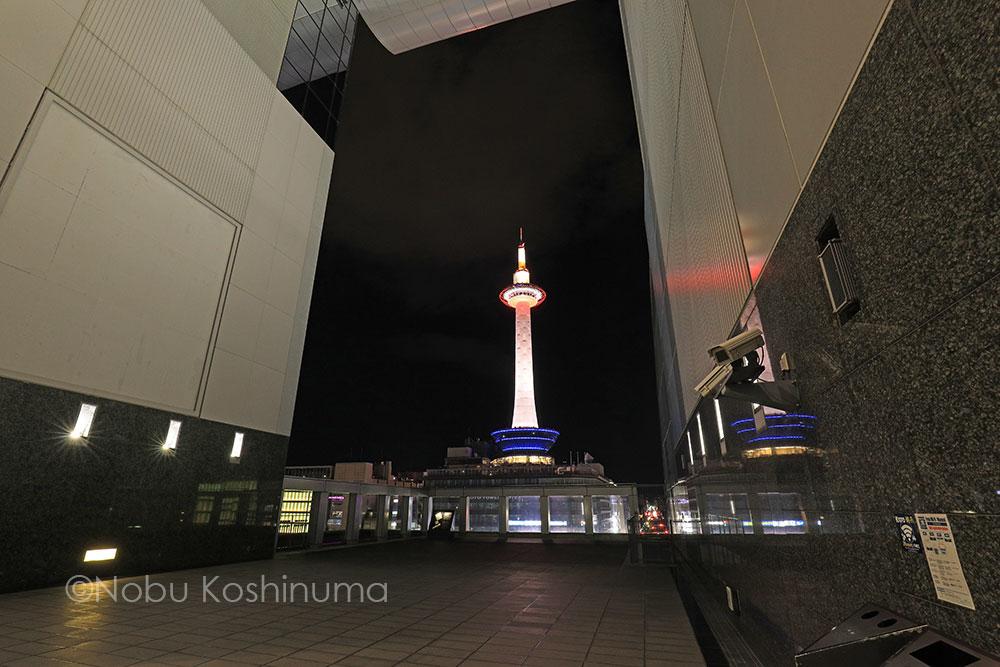 京都駅ビル 光のファンタジー( ライトアップ イベント )