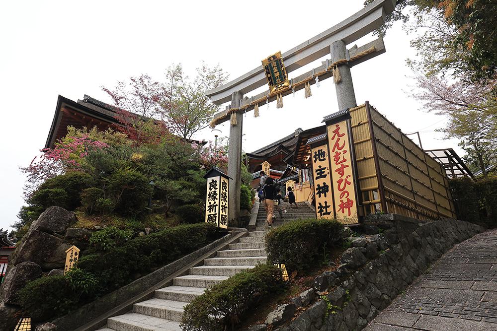 清水寺 世界遺産 えんむすびの神 地主神社