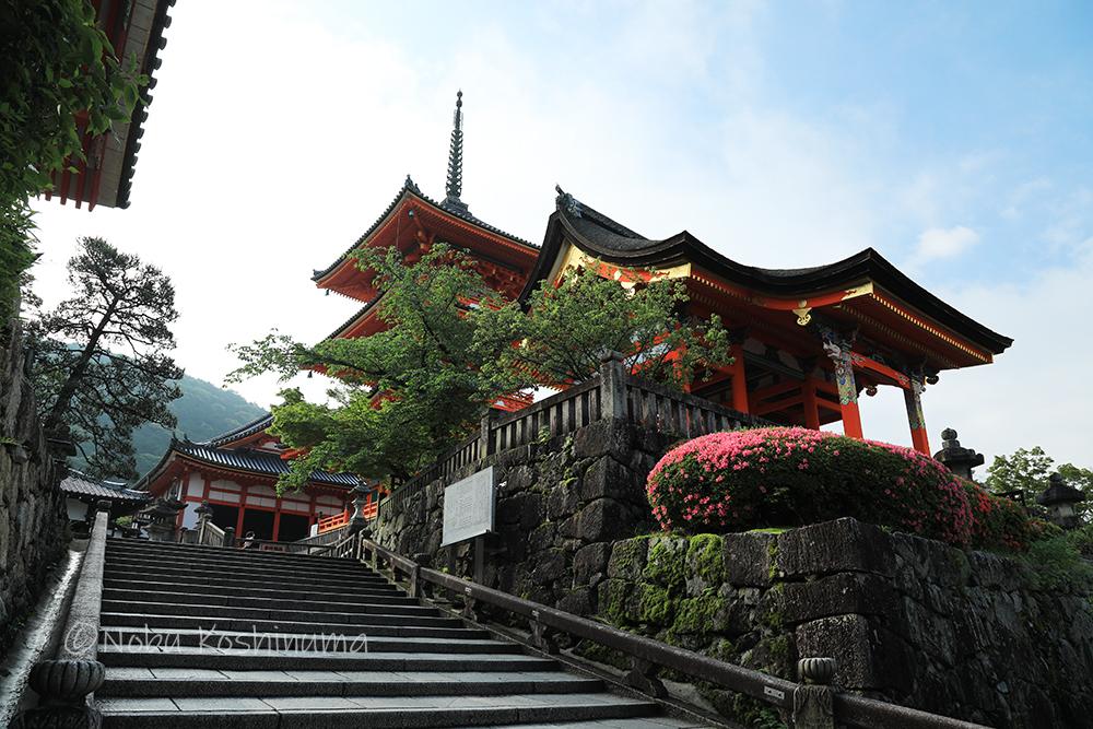 清水寺 世界遺産 三重塔