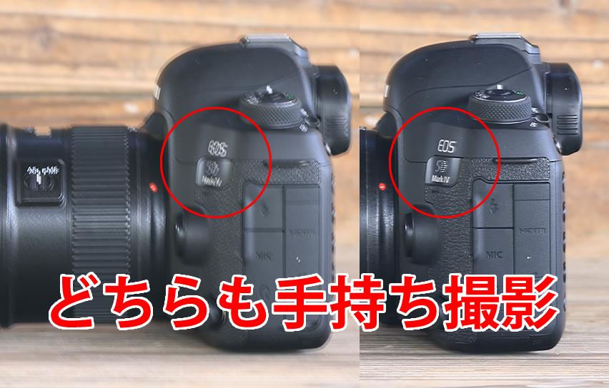EOS R5 と EOS 5D Mark Ⅳ 比較レビュー