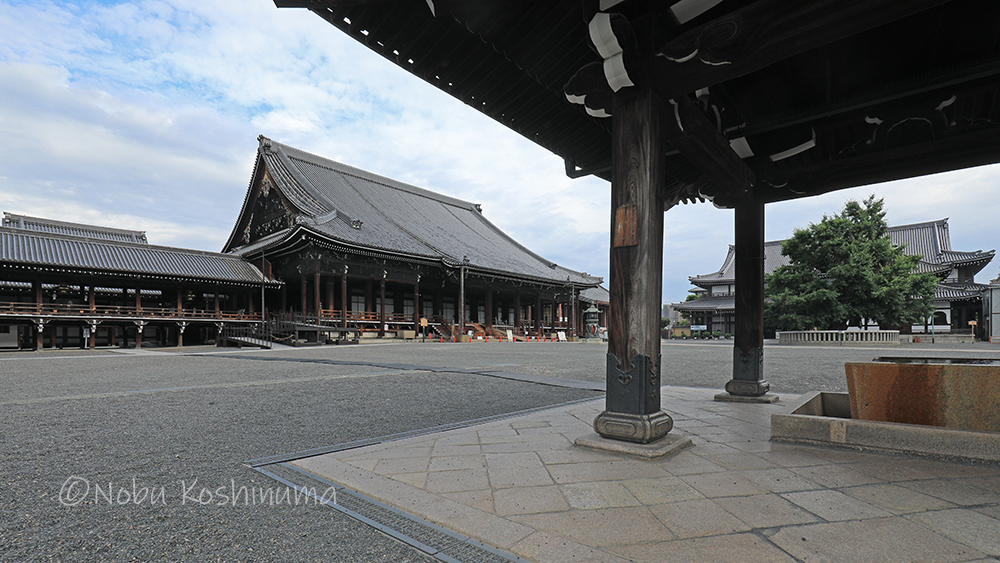 西本願寺 国宝建造物 阿弥陀堂