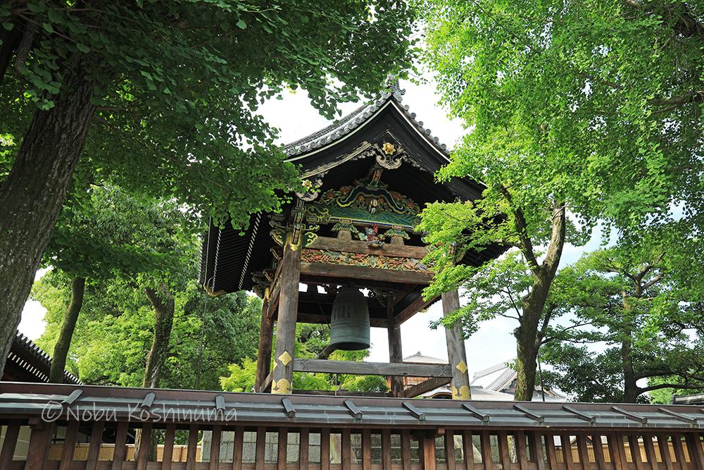 西本願寺 鐘楼 重要文化財