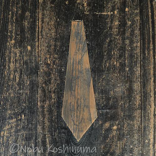 西本願寺 埋め木 ネクタイ