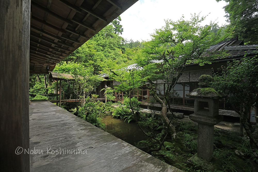 高山寺 石水院の中庭