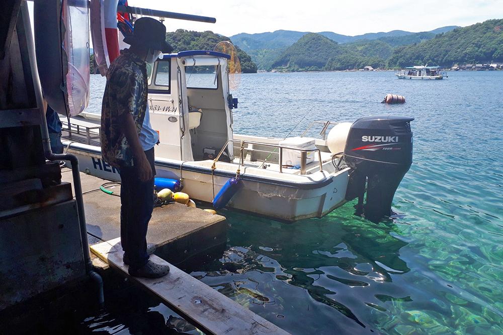 鍵屋の船釣り体験